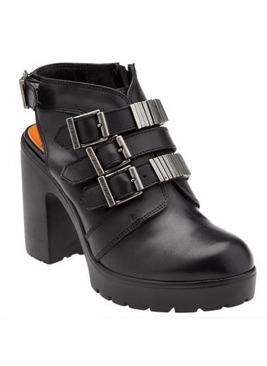 %100 Deri Ayakkabı-Harley Davidson